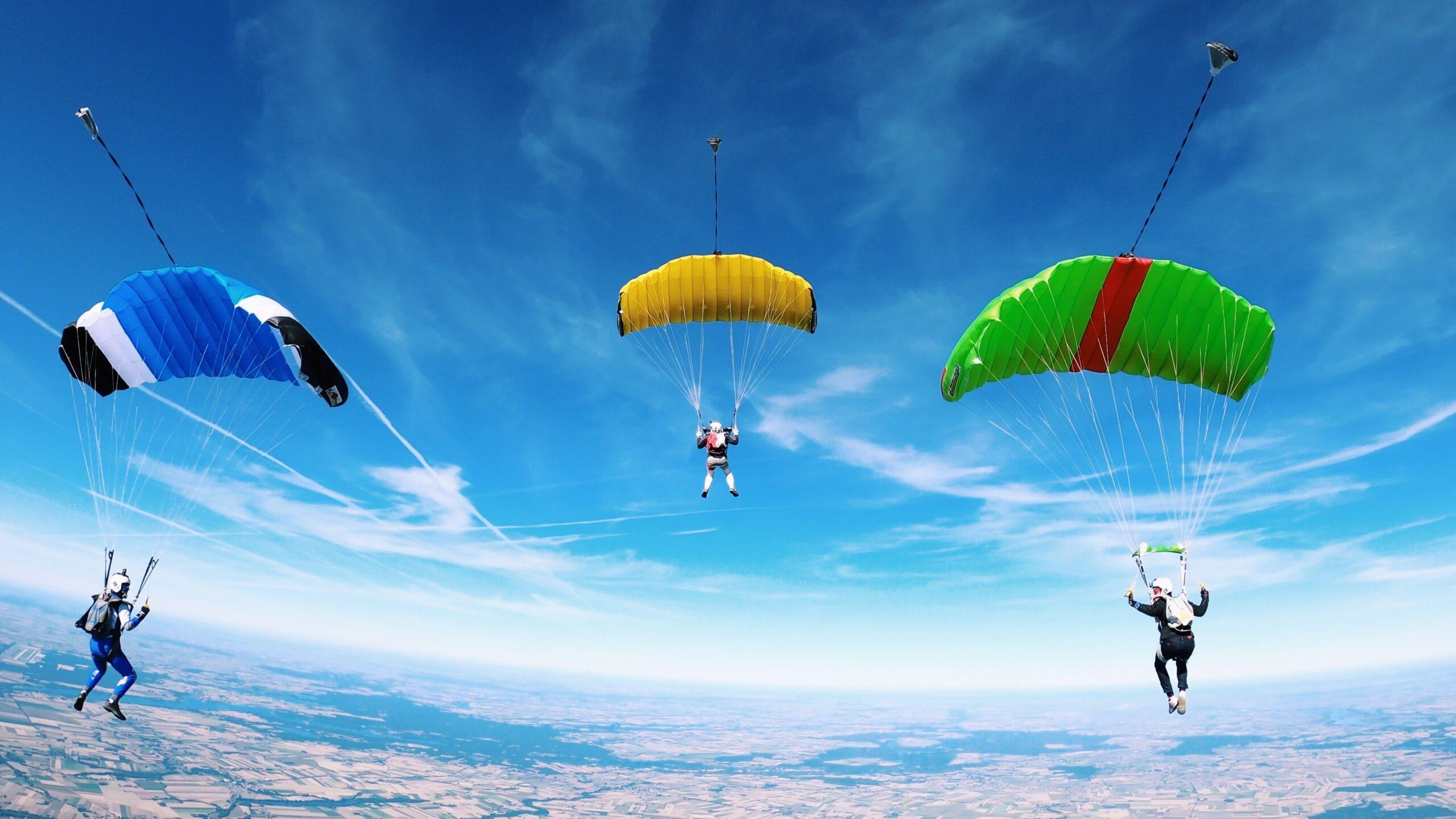 AFF Grundkurs Fallschirmspringen